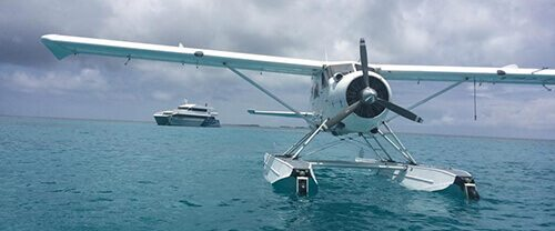 Sea Plane - Lady Musgrave Island